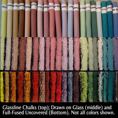 Full Set of 26 Glassline Chalks