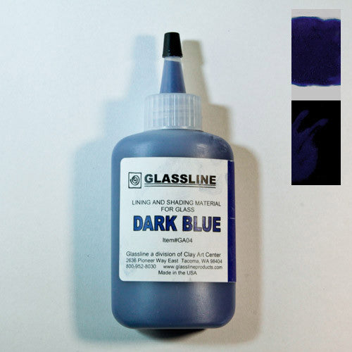 Blue (Dark Blue) Glassline Paint