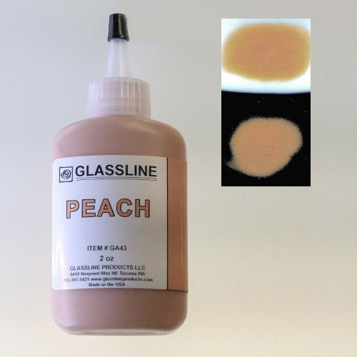 Peach Glassline Paint