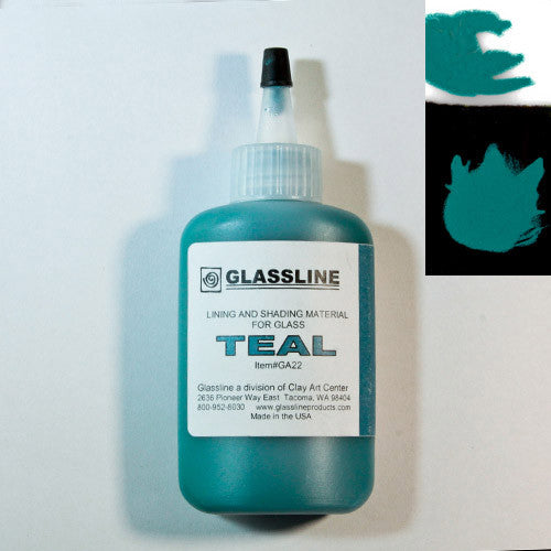 Teal Glassline Paint