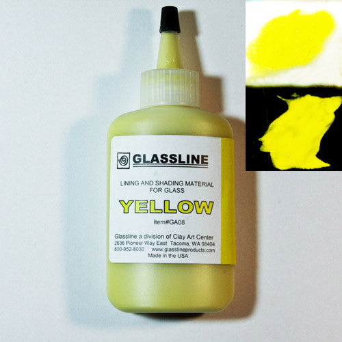 Yellow Glassline Paint