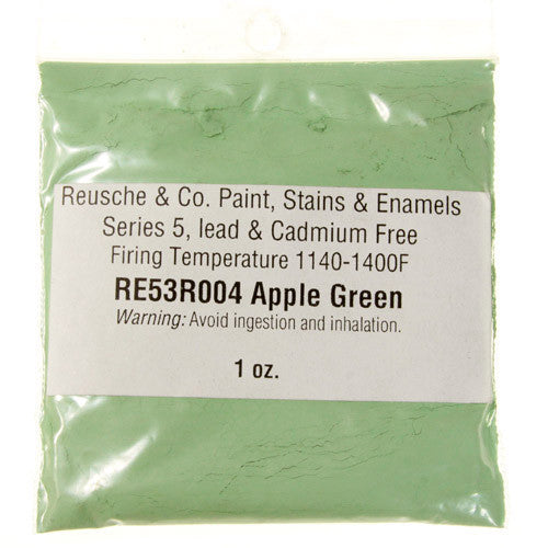 Reusche Apple Green Pigment