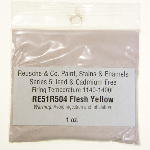 Reusche Flesh Yellow Pigment