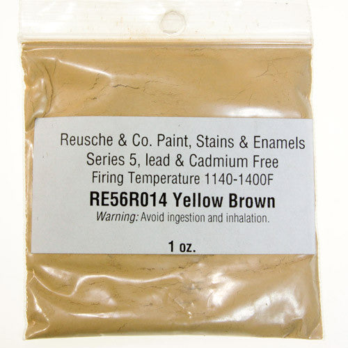 Reusche Yellow Brown Pigment