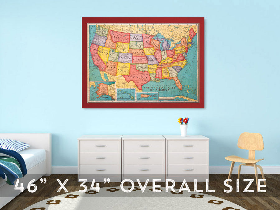 Cork board maps now available corkboard its taken 6 months of long nights in photoshop but our cork board maps are finally printed and are now available on our site our world and us maps have gumiabroncs Images