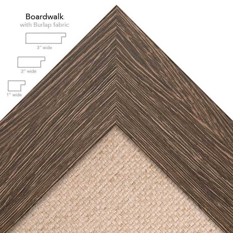 boardwalk burlap