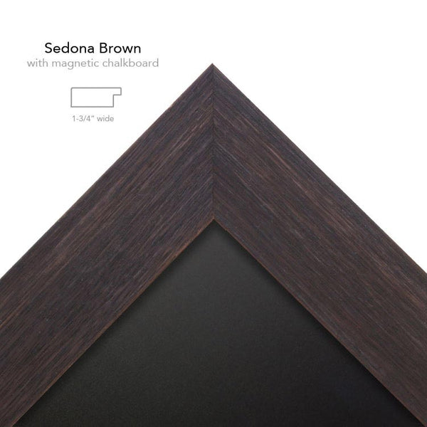 sedona Brown with chalk