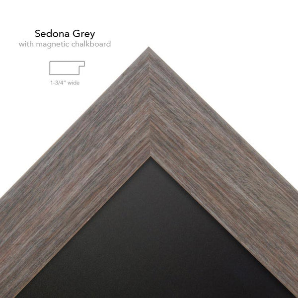 Sedona Grey with chalk