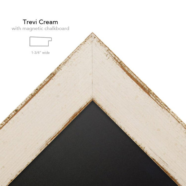 Trevi Cream with chalk