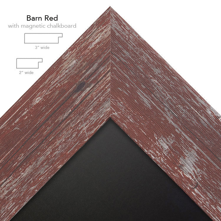 barn red chalk
