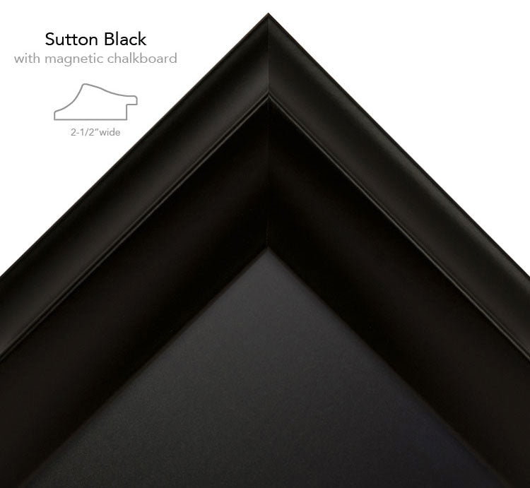sutton black chalk