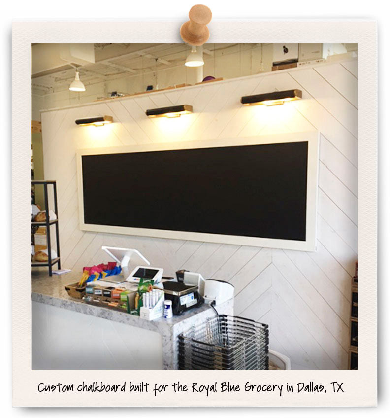 custom chalkboard dallas tx