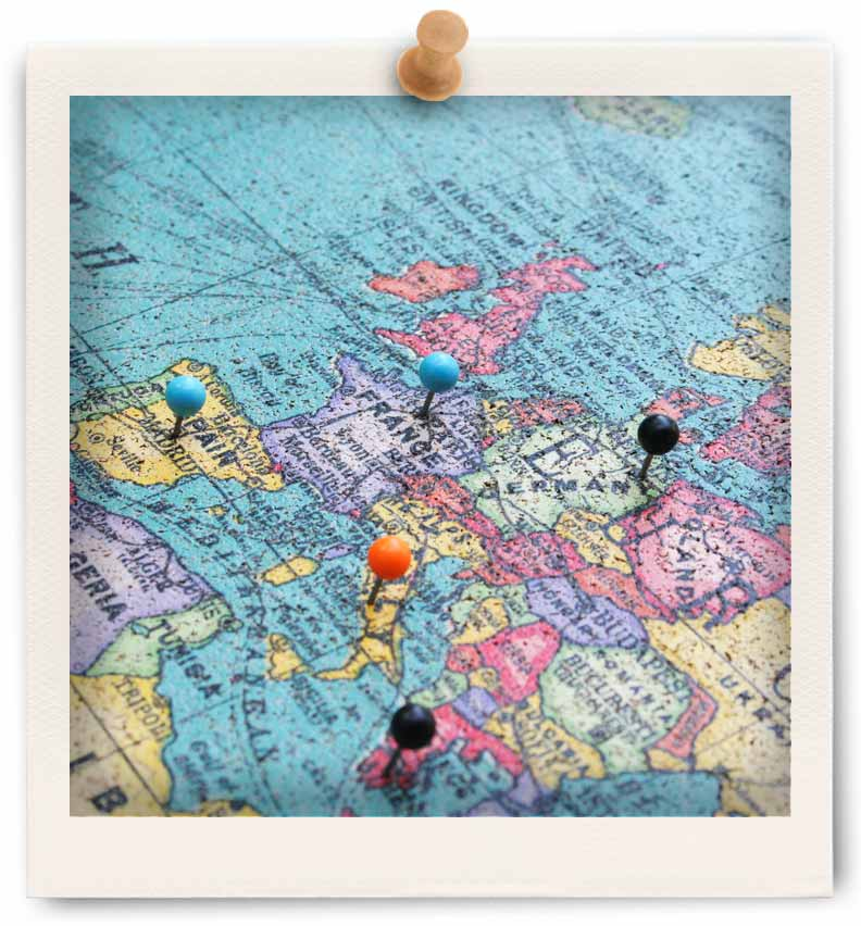 Cork Board Maps US World Maps Printed on Cork Corkboardcom