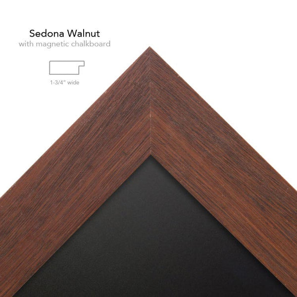 sedona Walnut with chalk