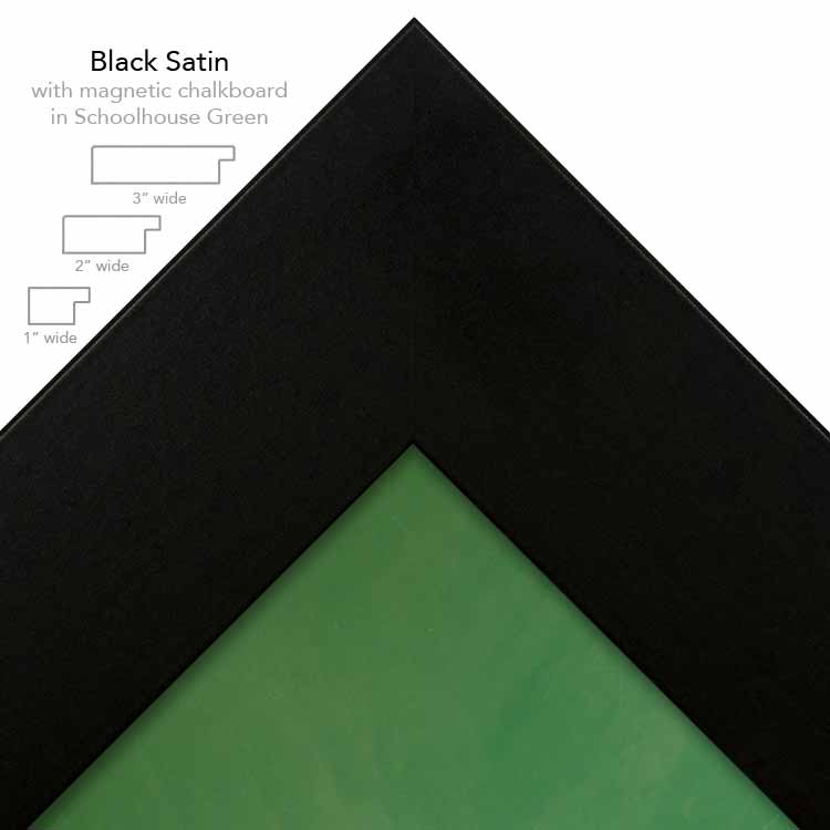 black plus green chalkboard