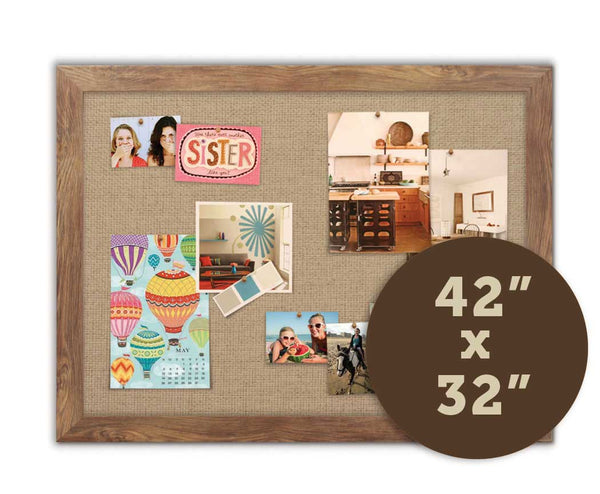 "Fabric Bulletin Boards 42"" x 32"""