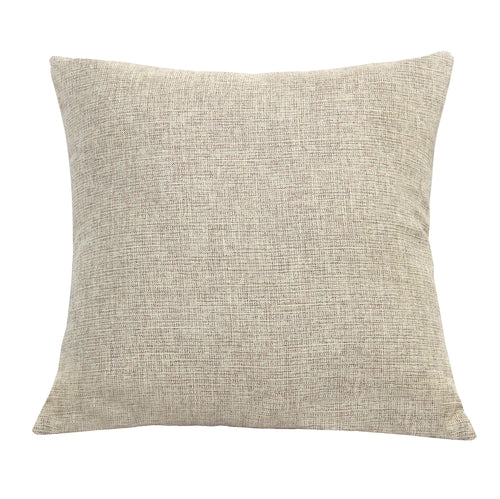 Stratton Home Decor Beige Tweed Pillow
