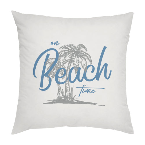 "Stratton Home Decor ""On Beach Time"" Pillow"