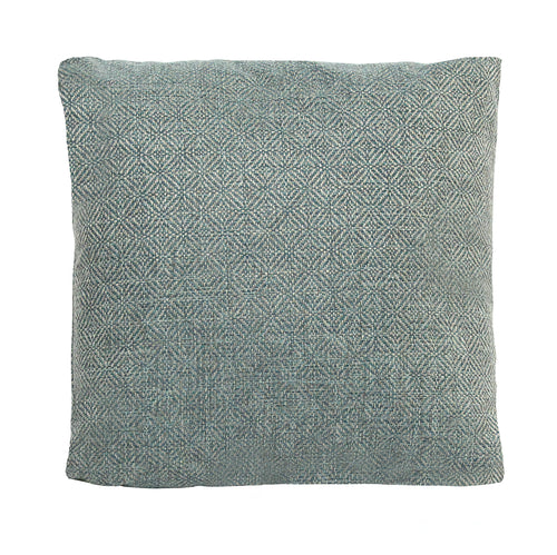 Stratton Home Decor Teal Jacquard Pillow