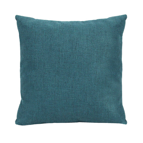 Stratton Home Decor Blue Tweed Pillow