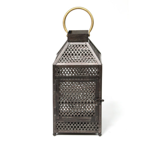Stratton Home Decor Metal Moroccan Lantern