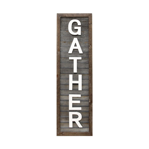 "Stratton Home Decor ""Gather"" Wall Panel"
