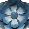 Stratton Home Decor Blue Ipomoea Metal Flower