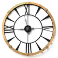 Stratton Home Decor Columbus Wall Clock