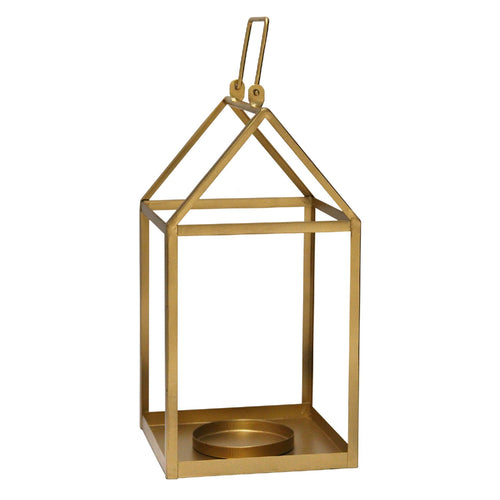 Stratton Home Decor Gold  Open Lantern