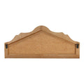 Stratton Home Decor Shabby Wood Coat Rack