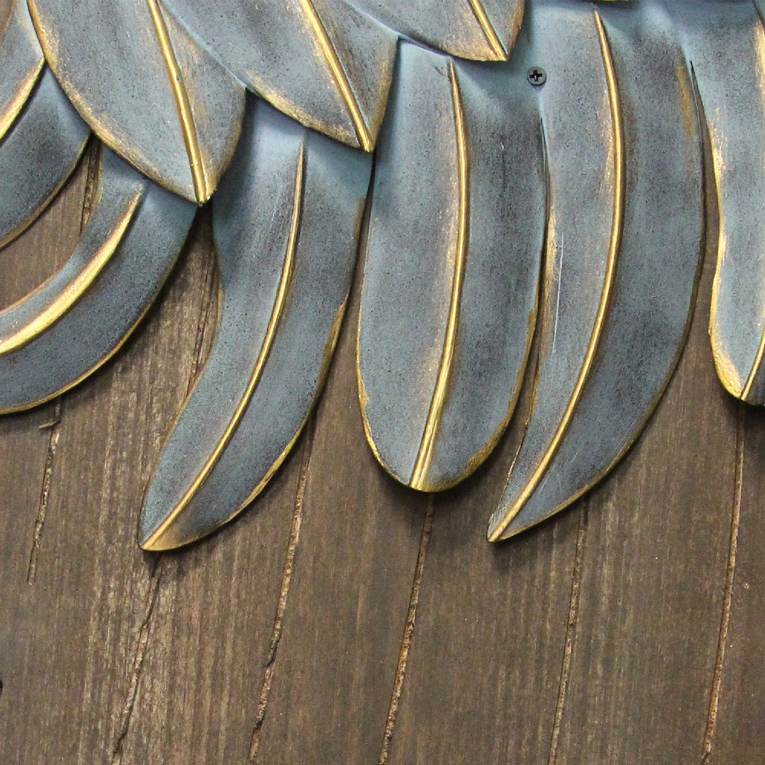 Stratton Home Decor Rustic Angel Wings S21047