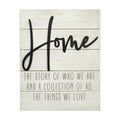 "Stratton Home Decor ""Home"" Wall Decor"