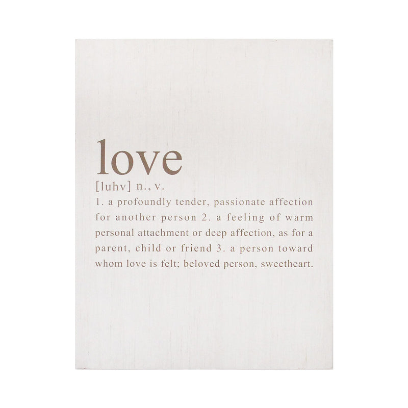 Stratton Home Decor Definition of Love Oversized Wall Art