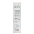 "Stratton Home Decor ""In this house"" Oversized Wall Art"