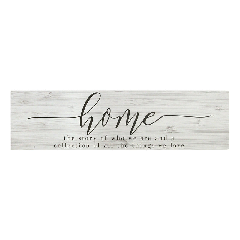 Stratton Home Decor Home Quote Oversized Wall Art