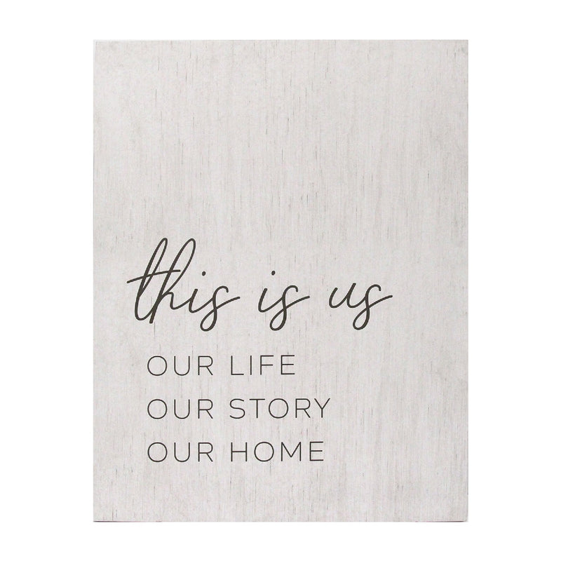Stratton Home Decor This is us Oversized Wall Art