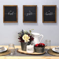 "Stratton Home Decor Set of 3 ""Be"" Wall Art"