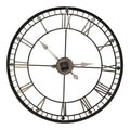 "Stratton Home Decor Oversized 31.50"" Industrial Austin Wall Clock"