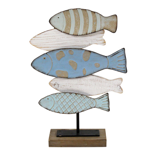 Stratton Home Decor School of Fish Table Top Decor