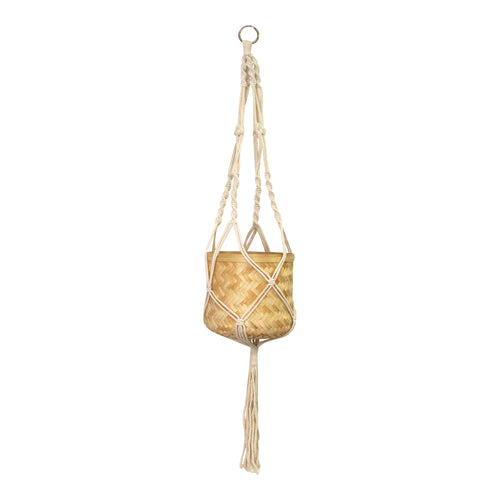 Stratton Home Decor Macramé Hanging Planter