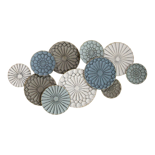 Stratton Home Decor Caroline Metal Plates Statement Wall Decor