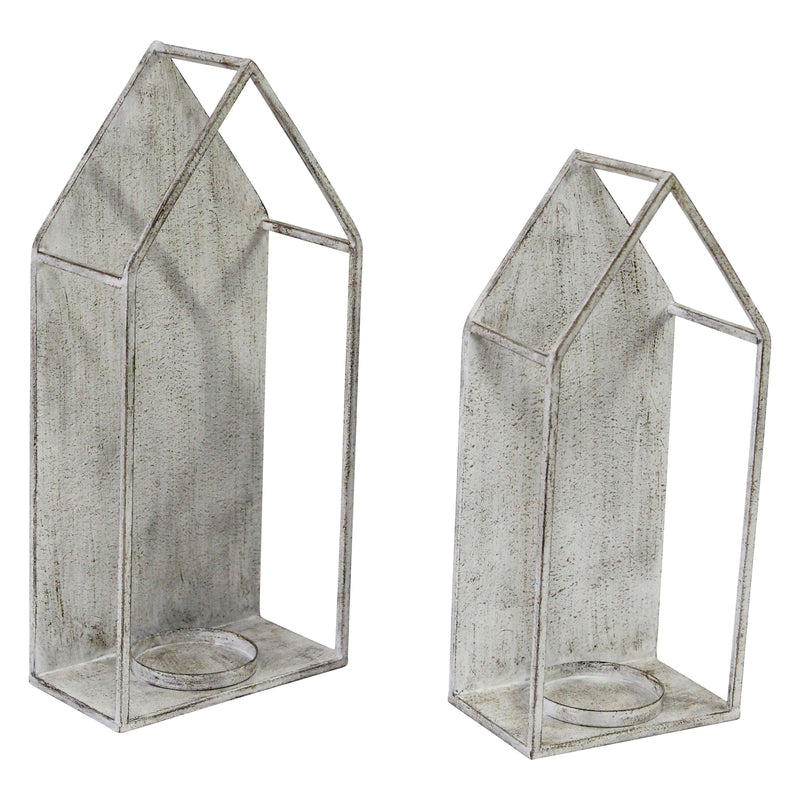 Stratton Home Decor Set of 2 House Candle holder