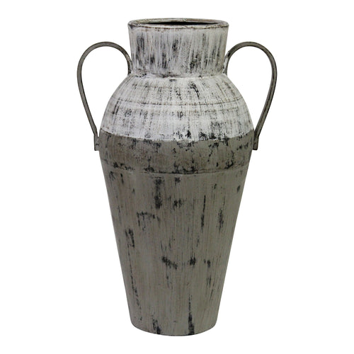 Stratton Home Decor Two Tone Distressed Vase
