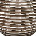 Stratton Home Decor Rattan Lantern