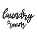Stratton Home Decor Wood Laundry Room Script Wall Décor