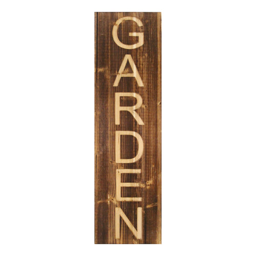 Stratton Home Decor Wood Garden Panel Wall Decor