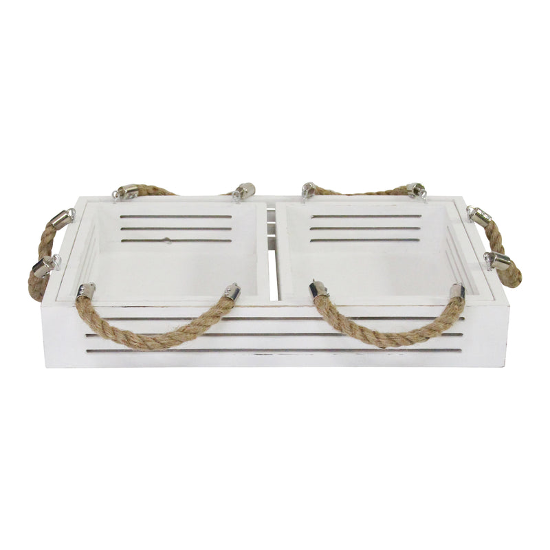 Stratton Home Decor Set of 3 Hampton Nesting Trays