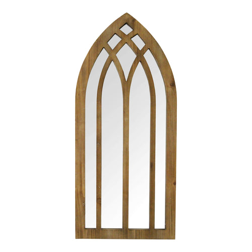 "Stratton Home Decor 36"" Francis Arch Wall Mirror"
