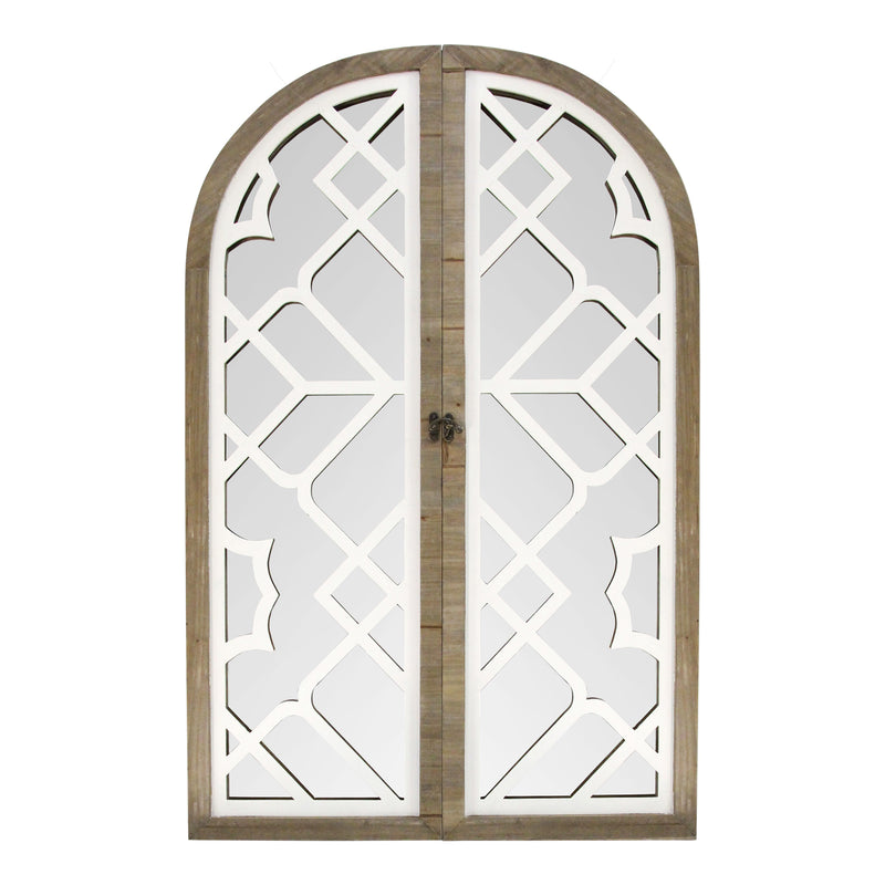 Stratton Home Decor Layla Gate Wall Mirror