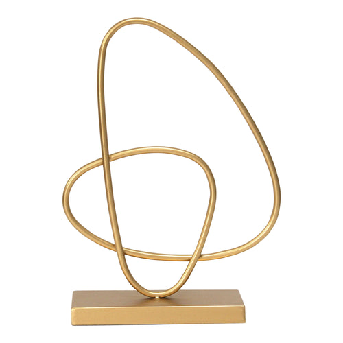 Stratton Home Decor Gold Abstract Tabletop Sculpture